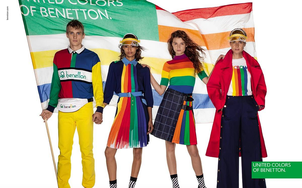 United Colors of Benetton es la marca italiana líder en transparencia