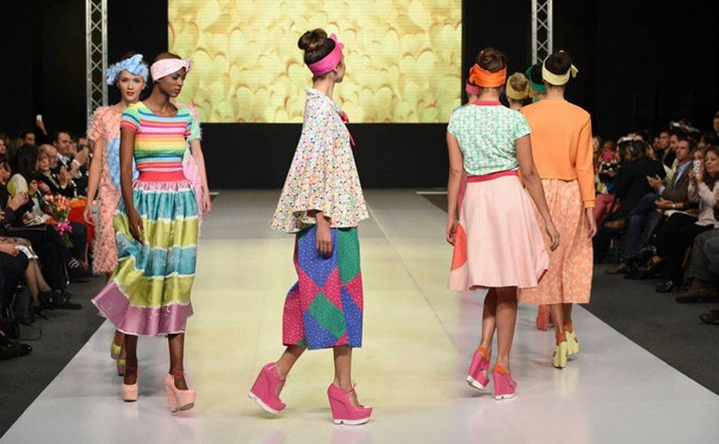 Agatha Ruiz de la Prada participó en Bogotá del International Footwear and Leather Show