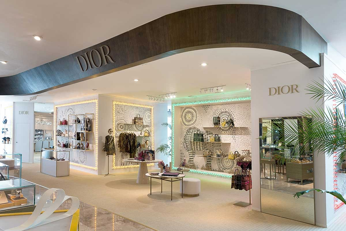 Dior abre dos pop up stores en México